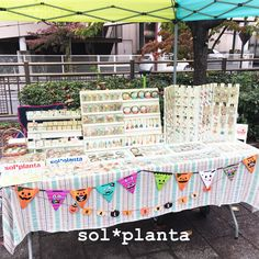 AWAKEマーケット@GNZBRO FES★ありがとうございました♪ Jewellery Boxes, Jewellery Display, Earring Display, Craft Stall Display, Craft Fair Displays, Craft Stalls, Booth Design, Jewelry Organization, Craft Fairs