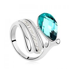 $5.85 - Drop Ring - #WHOLESALE #JEWELRY - Wholesalerz.com