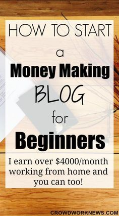 Are you looking for a flexible and profitable work at home option? Then you have come to the right place. Here is a very easy to follow guide to starting a blog. Blogging is what is making over $4000/month for me and its only 7 months since I started. Start your blogging journey today!
