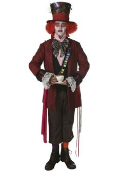 Authentic Mad Hatter Costume (Standard)  Click image twice for more info - See a larger selection of mens halloween costume at http://costumeriver.com/product-category/mens-halloween-costumes/ -  holiday costume , event costume , halloween costume, cosplay costume, classic costume, scary costume, super heroes costume, classic costume, clothing