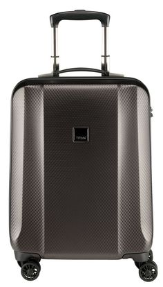 """Titan Xenon Deluxe 22 """"Hardside Carry On Spinner Koffer LuggageDesigners Luggage Sets, Travel Luggage, Travel Bags, Trolley Case, Carry On Size, Spinner Suitcase, Tumi, Online Bags, Viajes"""