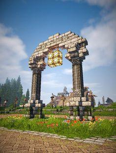 Villa Minecraft, Minecraft Building Guide, Minecraft Structures, Minecraft Castle, Minecraft Tips, Amazing Minecraft, Minecraft Tutorial, Minecraft Blueprints, Minecraft Architecture