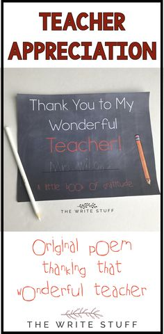 To thank that wonderful teacher, have your child or your students create this gratitude keepsake book. Color and B & W. Perfect for student teachers too! #teacherappreciation