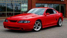 1996 Mustang, my old car. Lots of good memories.