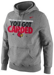 Louisville Cardinals Nike 2013 BCS Sugar Bowl Champions Official Locker Room Hooded Sweatshirt http://www.fansedge.com/Louisville-Cardinals-Nike-2013-BCS-Sugar-Bowl-Champions-Official-Locker-Room-Hooded-Sweatshirt-_1332150038_PD.html?social=pinterest_pfid53-10310