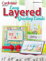 Card Making & Paper Crafts - Easy Layered Greeting Cards