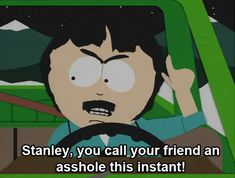 """He gives his kids good advice. 