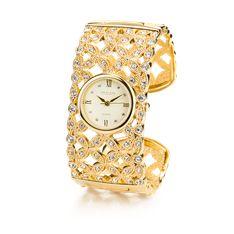 Golden Cascade Watch