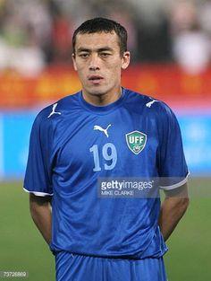 Uzbekistan's Islom Inomov poses prior to the team's international friendly match against China in Macau 27 March 2007 China beat Uzbekistan 31 AFP...