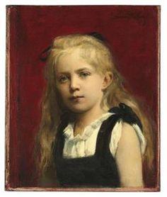 Portrait of a Girl - Каролюс-Дюран