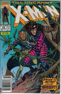 The Uncanny X-men #266 First Appearance of Gambit.