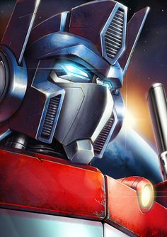 Un optimus pour ta journée awsome @optimusbnj -The Goddamn Prime by noprips #transformers