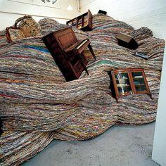 Inspiration sculpture David Mach