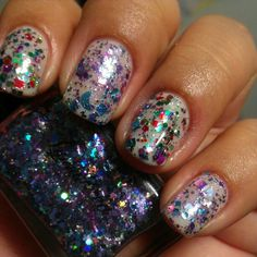 thelacquerlover - #lynnderella Magic Fairy Stars & The Glittering Crowd <3 #lovelynnderella #glitterfairies