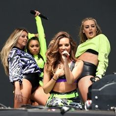 Little Mix play the main stage at BBC Radio 1's Big Weekend in Hull