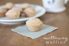 Meltaway Muffins | 10 minute cinnamon & sugar muffin recipe that perfect for breakfast, brunch or dessert
