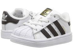 05dafafafe0 adidas Superstar (Infant Toddler) Originals Kids Shoes White Black