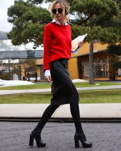 Stylish Office Outfits For Ladies | Working skirt styles