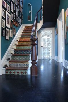 A-look-at-Sunas-stairs-each-tiled-in-a-different-Spanish-tile..jpg 400×600 pixels