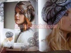 December 2015 Zhurnal MOD 592 Russian crochet n knit patterns from www.d...