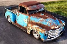 I love this ol` truck rust and all