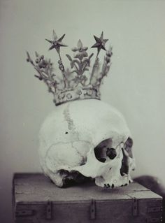 New decoration for my living room #skull #crown #decoration