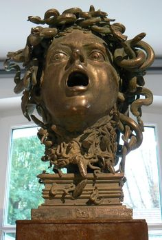 Medusa Medusa Gorgon, Medusa Head, Turn To Stone, Beautiful Snakes, Renaissance Artists, Legends And Myths, Greek Mythology, Ancient Greece, Caravaggio