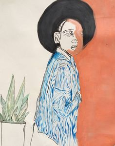 "Saatchi Art Artist Erin Armstrong; Painting, ""Mallala"" #art"