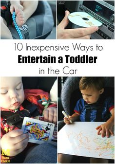 10 Inexpensive Ways to Entertain a Toddler in the Car. AD