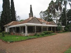 Isak Dinesen's home outside Nairobi, made famous by Out of Africa. A place I felt immediately at home at.
