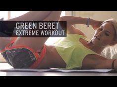 Green Beret Extreme Workout= really good! Kim Kardashian Workout, Sandbag Workout, Workout Diet, Military Workout, Military Training, Youtube Workout, Extreme Workouts, Green Beret, High Intensity Workout