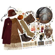 exploring the autumnal lands.. by silenthedges on Polyvore featuring Market, Opening Ceremony, F-Troupe, Addison, Linea, Pier 1 Imports, Dollhouse, Fountain, BRONTE and Burton