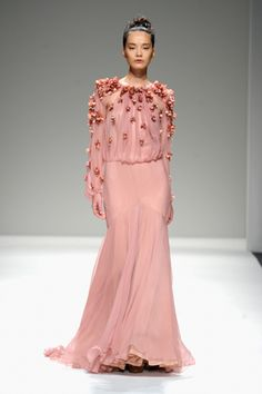 Bibhu Mohapatra Reinvents the Floral Motif for Spring.
