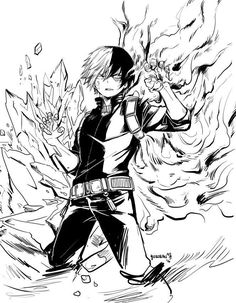 Boku no Hero Academia || Todoroki Shouto, My hero academia #mha