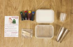 DIY Gemstone Soap Kit but I wanna make with crayons for display or a kids project