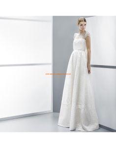 Wunderschöne A-linie kurze Ärmel Brautkleider aus Spitze- Jesús Peiró