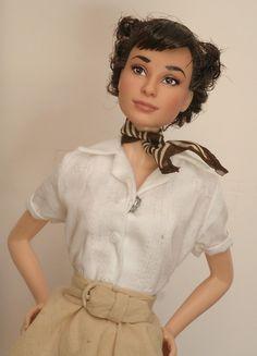 Roman Holiday doll repaint