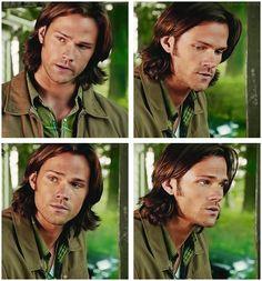 [SET OF GIFS] Sam <3 #SamWinchester #Supernatural 8.01 #WeNeedtoTalkAboutKevin #SPNS8