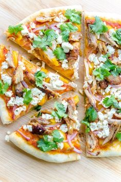 Recipe: Tandoori Chicken Pizza