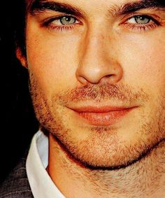 Ian Somerhalder~ he reminds me of someone....I can't remember who
