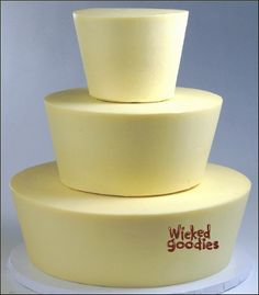 How to Taper Cake Tiers by Wicked Goodies