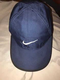 Women s Nike Featherlight Dri-Fit Navy Hat Cap OSFM (One Size Fits Most) 5d116b8a3