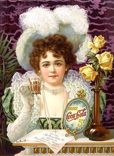 Recently we had posted article about vintage Pepsi Cola advertising. Most of us are well aware about the Cola War. So we thought it would be a great idea to share some of vintage Coca Cola ads also… Posters Vintage, Retro Poster, Vintage Advertising Posters, Old Advertisements, Vintage Images, Food Advertising, Print Advertising, Art Posters, Advertising Campaign