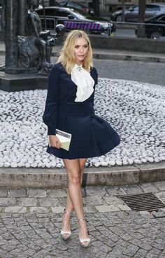Elizabeth Olsen in Paris