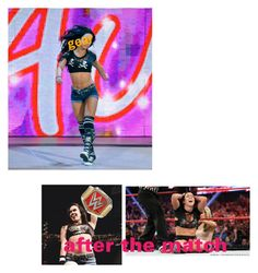 """""""Rp"""" by maddiemoxly ❤ liked on Polyvore featuring WWE"""