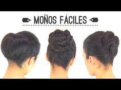 Peinados fáciles: Diferents ideas para realizar recogidos con moños