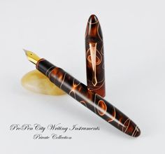 Cappuccino Custom Fountain Pen (Meisternib)  Ask a Question $139.99