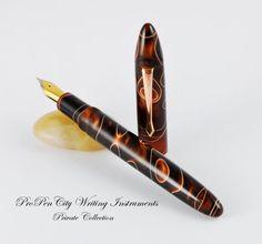 Cappuccino Custom Fountain Pen (Meisternib)
