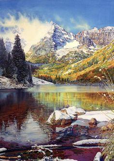 Joel Johnson watercolor