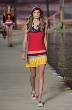 Gigi and Bella Hadid Are Caribbean Babes for Tommy Hilfiger via @WhoWhatWearAU